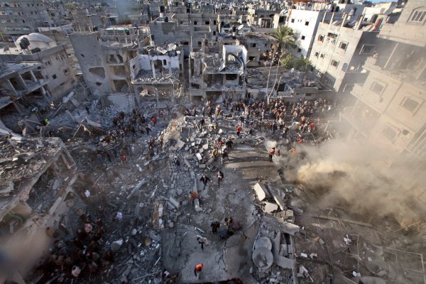 Gaza. Everything is Broken