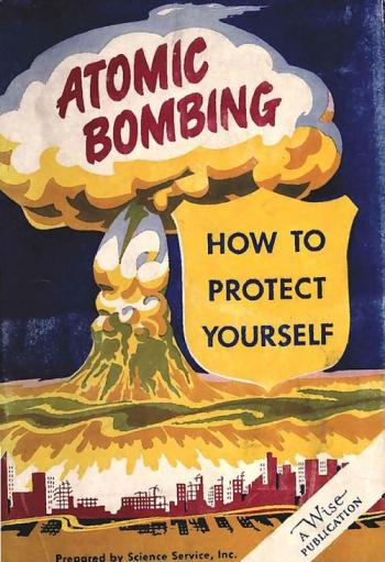 Atomic Bomb. How To Protect Yourself