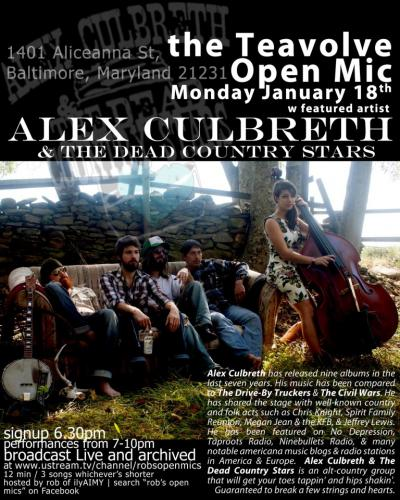 Alex Culbreth & The Dead Country Stars