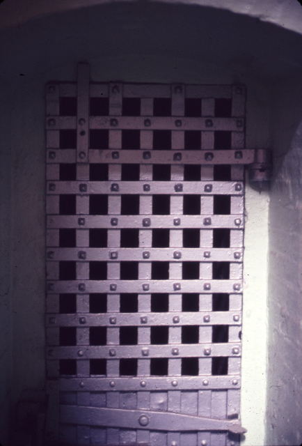 A Cell In The Old Cell Block