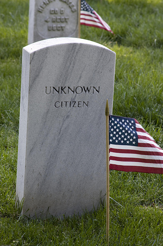 The Unknown Citizen ‎