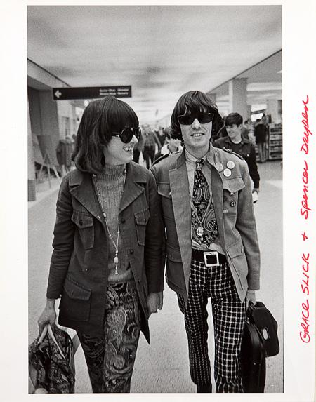 Spencer Dryden & Grace Slick