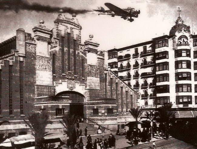 Bombardeo Mercado Central Alicante