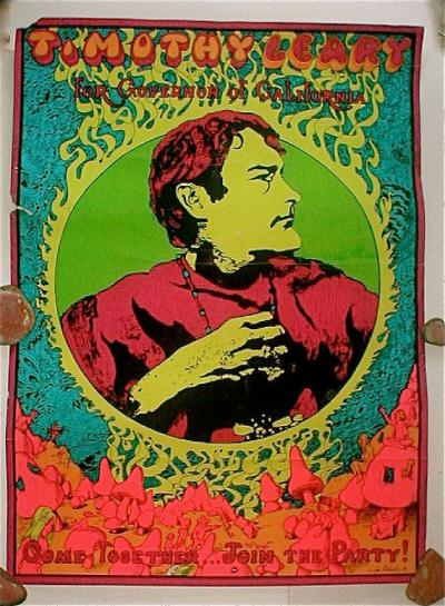 Timothy Leary campaign