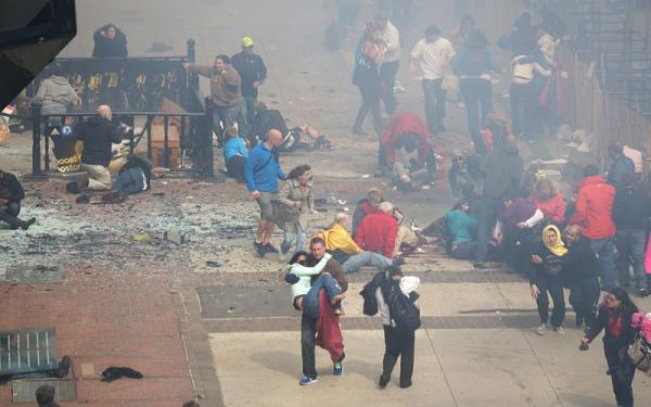 Boston Marathon bombings, April 15, 2013‎