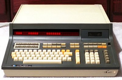 Basic Language Model 9830A, Hewlett Packard, 1972.