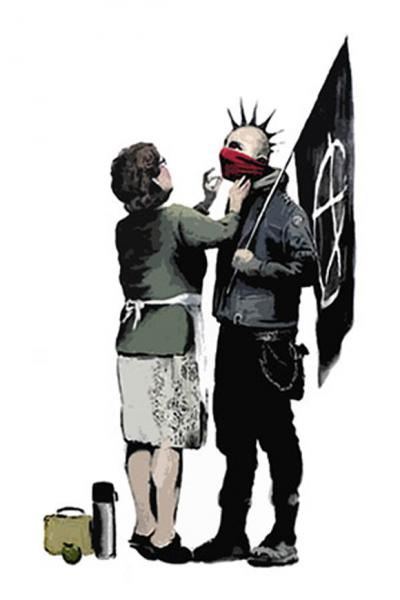 Anarchist-And-Mother-by-Banksy