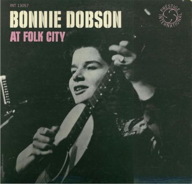 Bonnie Dobson at Folk City