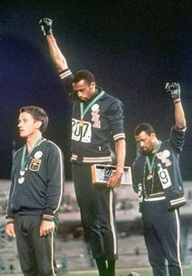 Mexico 68. Tommie Smith e John Carlos.