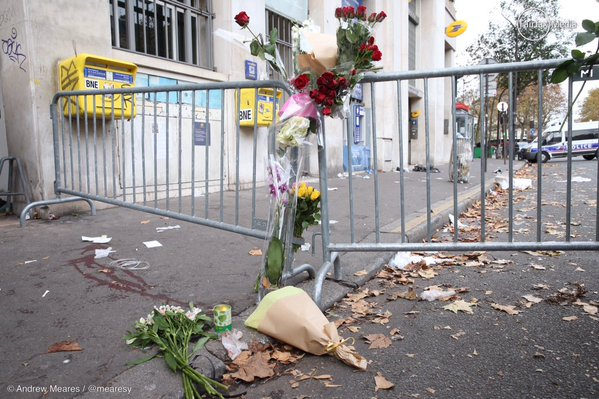 This Blood's for You. Parigi, dopo la strage al Bataclan, novembre 2015