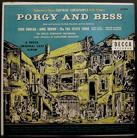 Porgy and Bess ‎‎(l'incisione originale)‎