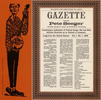 Gazette With Pete Seeger, Vol. 1
