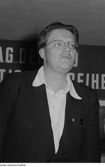 Kurt Barthel, Secretary of the Writers' Union during the uprising of 1953