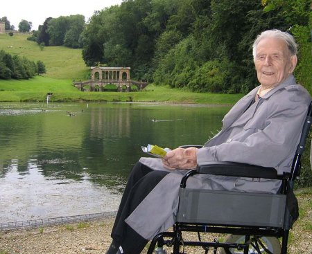 Harry Patch a 109 anni