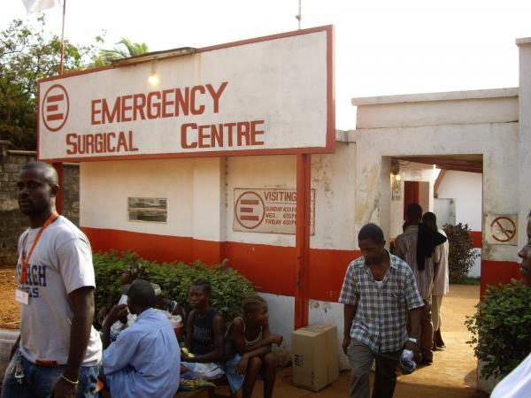 Emergency Surgical Centre, Goderich, Freetown, Sierra Leone.