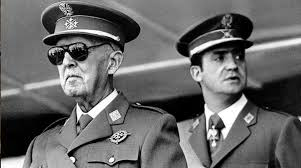 Juan Carlos y Francisco Franco
