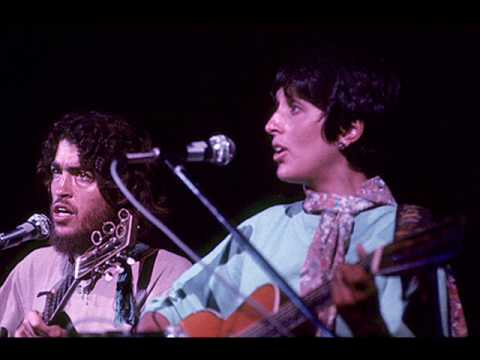 Joan Baez and Jeffrey Shurtleff