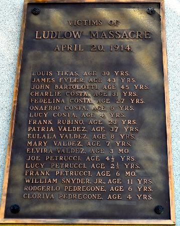 Victims of the Ludlow Massacre