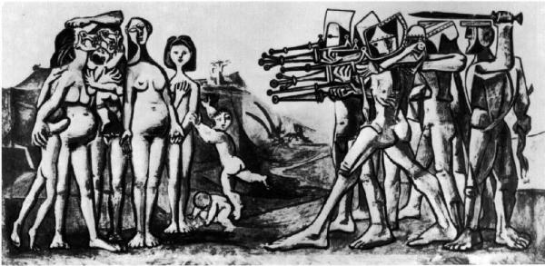 Picasso - Massacre In Korea 1951.JPEG