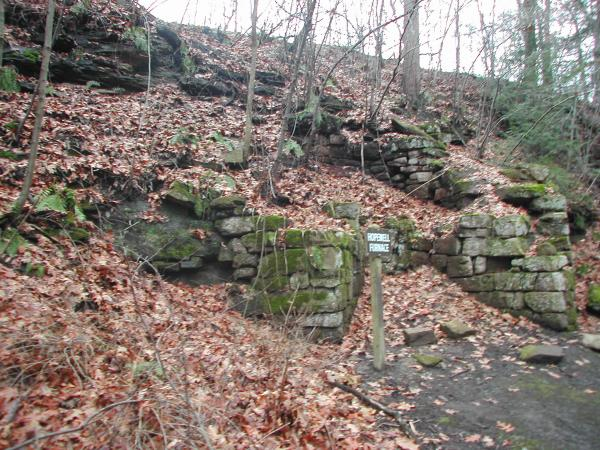 Remnants of Hopewell Furnace