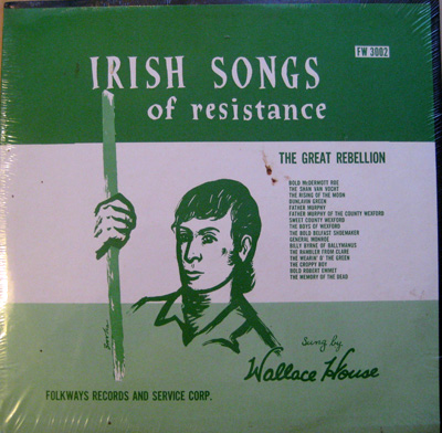 Wallace House – Irish Songs of Resistence, 1959