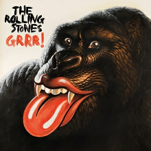 The Rolling Stones GRRR cover artwork