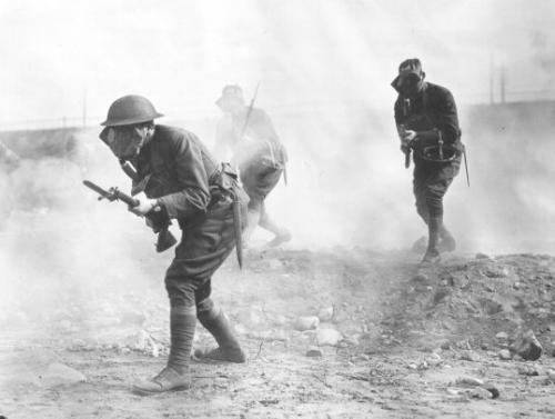 WW1-mustard-gas-attack