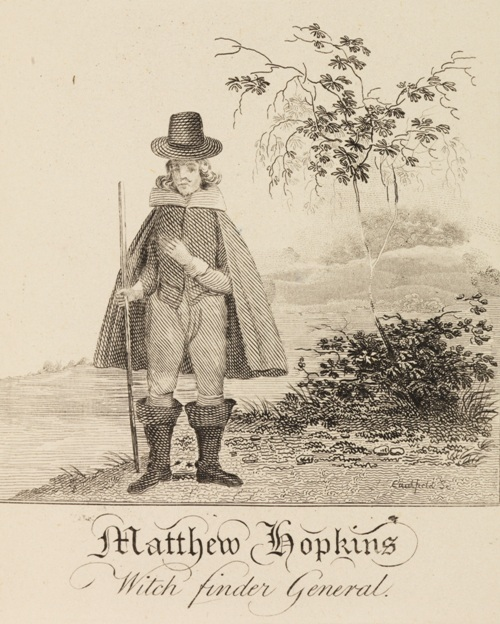 Matthew Hopkins, Witch-Finder General.