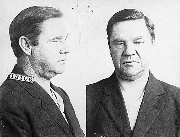 Big Bill Haywood mugshot