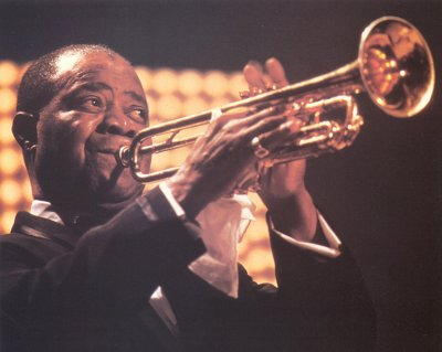 Louis Armstrong, l'immortale Satchmo.
