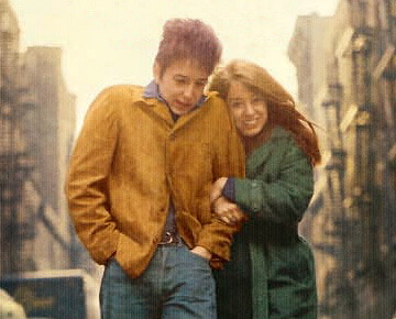 bob dylan and suze rotolo