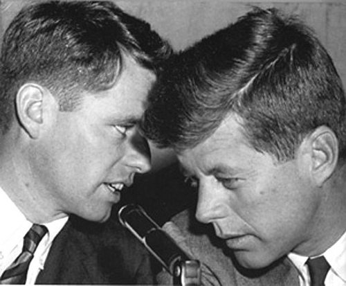 JFK and Robert Kennedy