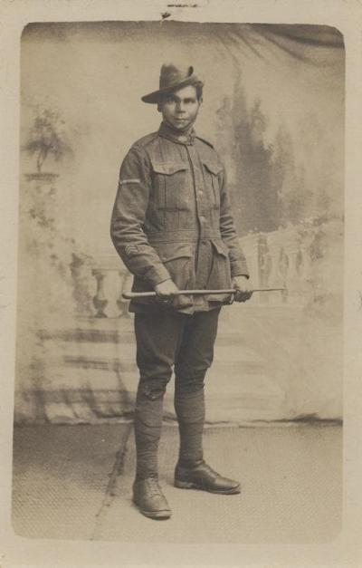 Indigenous Soldier WWI