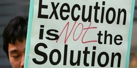 execution is not the solution