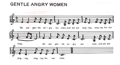 We are Gentle Angry Women