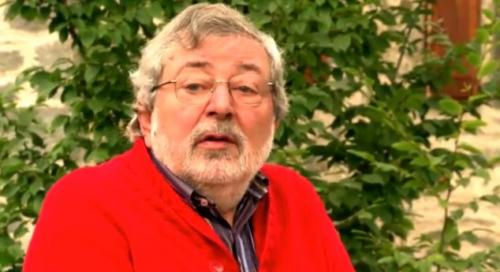 Guccini al Mulino di Chicon dove ha registrato l'ultimissimo album della sua carriera
