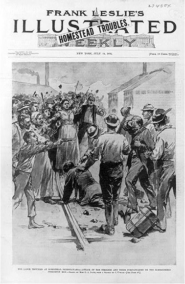 Homestead Strike 1892‎