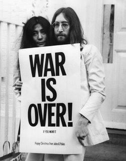 john yoko war is over