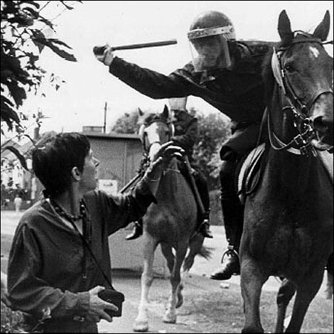 Lesley Boulton at Orgreave