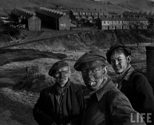 "W. Eugene Smith, ""Welsh Coal Miners"", 1950 (LIFE)"