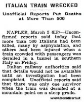 The New York Times, 6 marzo 1944.