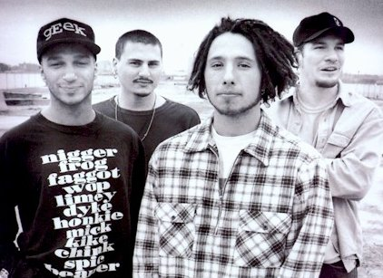 Rage Against The Machine.