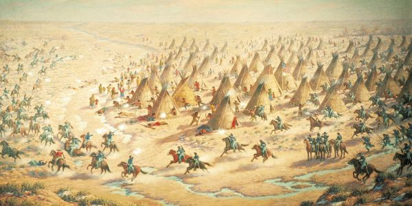 La massacre de Sand Creek. 29 de novembre de 1864.