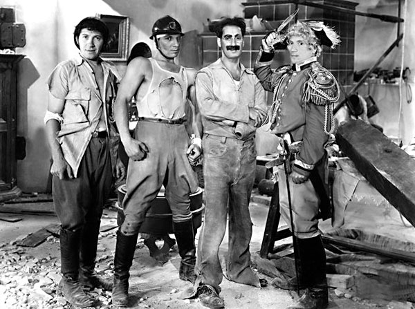 "Marx Brothers in ""Duck Soup"""