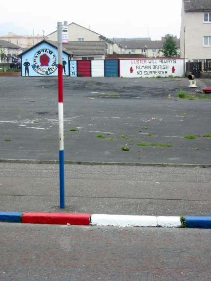 Shankill Road, Belfast.