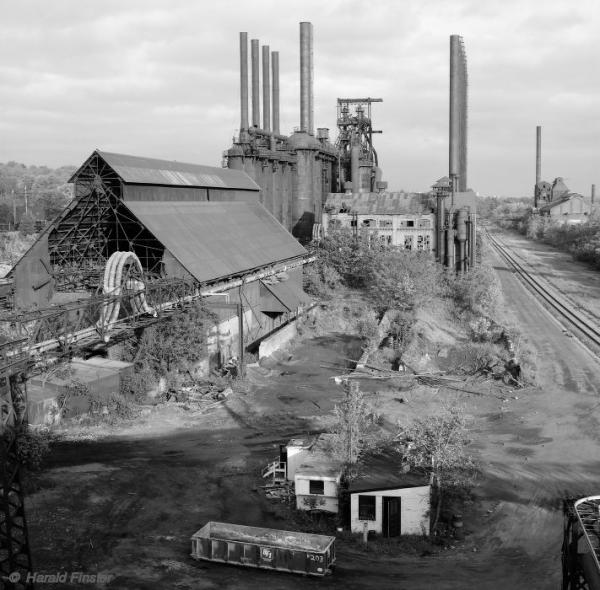 Youngstown, Ohio: Jeannette blast furnace in 1992. Picture by Harald Finster