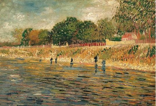 Vincent Van Gogh - Bords de Seine (1887)